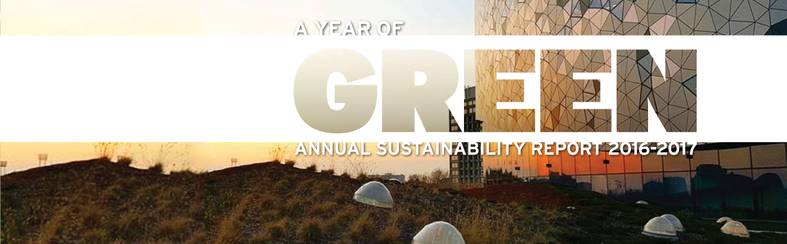 The 2016 - 2017 Annual Sustainability Report