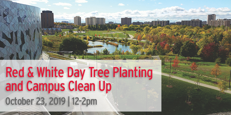 Red & White Day - Tree Planting & Campus Clean Up